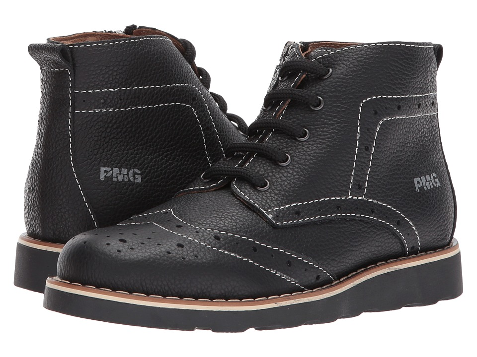 Primigi Kids PTE 8106 (Little Kid) (Black) Boy's Shoes