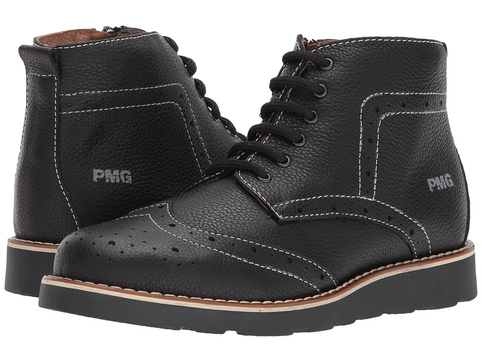 Primigi Kids PTE 8106 (Big Kid) (Black) Boy's Shoes