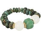LAUREN Ralph Lauren Graduated Beaded Stretch Bracelet