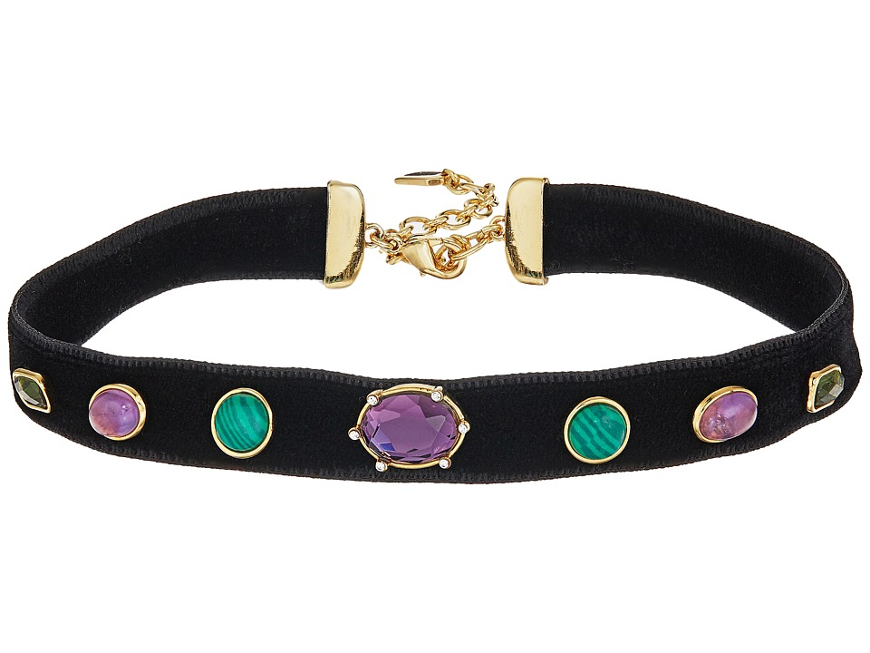 LAUREN Ralph Lauren - 12.5 Multi Stone Choker Necklace