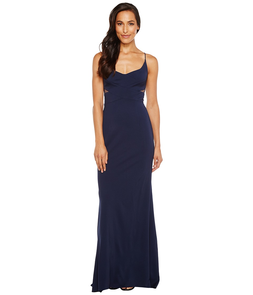 Adrianna Papell - Jersey Modified Mermaid Gown
