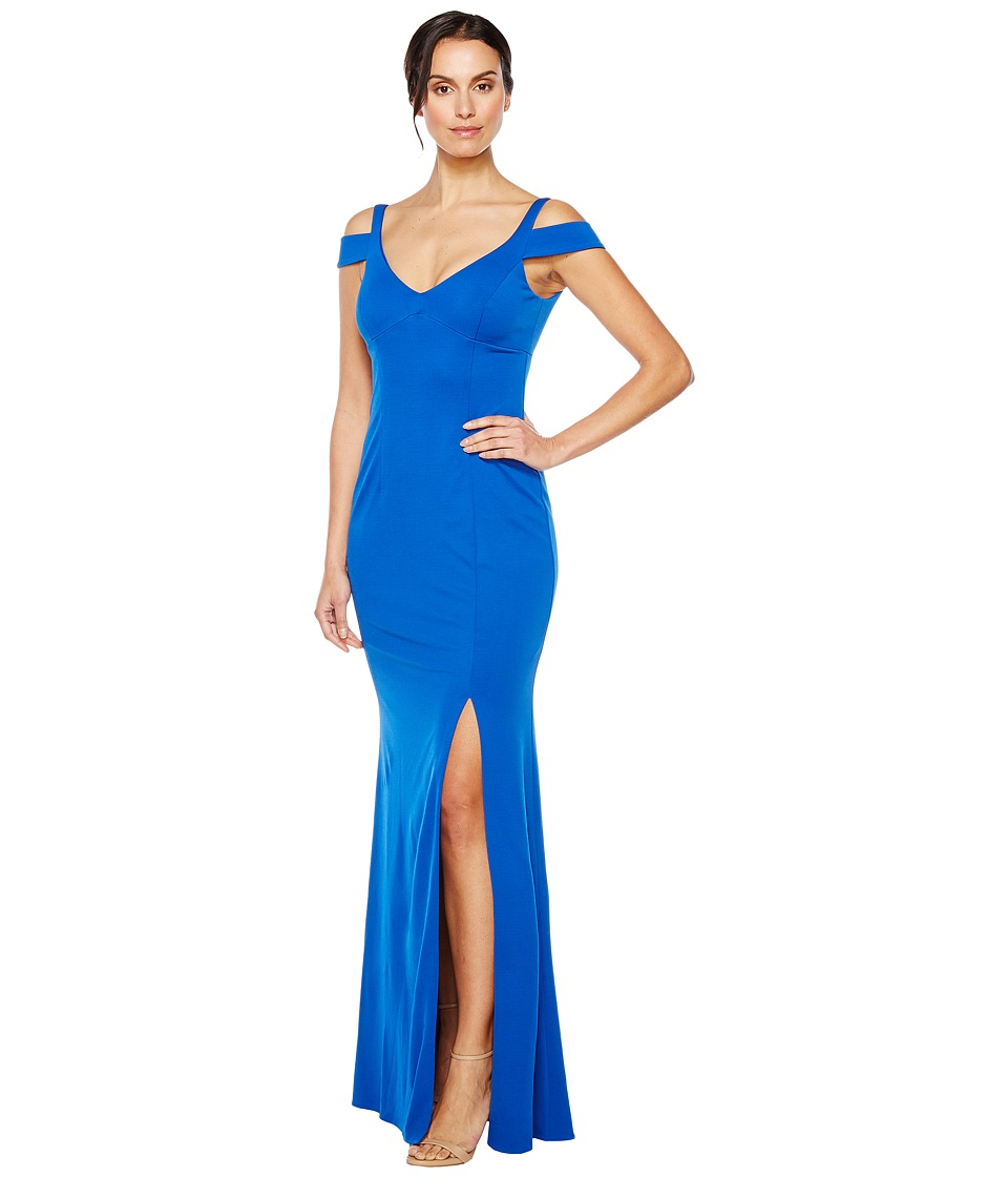 Adrianna Papell - Modified Jersey Mermaid Gown