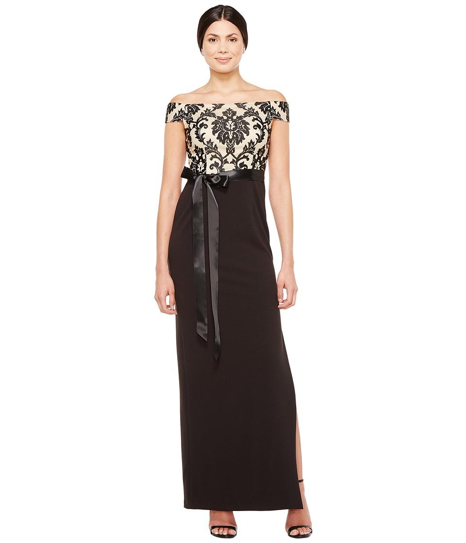 Adrianna Papell - Emblem Column Gown