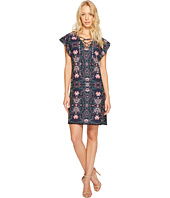 Jessica Simpson - Printed Lace-Up Dress JS7A9420