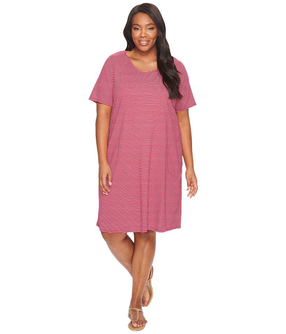 Extra Fresh by Fresh Produce - Plus Size Pinstripe Allure T