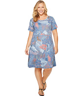 Extra Fresh by Fresh Produce - Plus Size Colored Pencils Sadie Dress