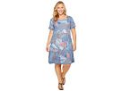 Extra Fresh by Fresh Produce Plus Size Colored Pencils Sadie Dress