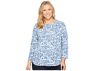 Extra Fresh by Fresh Produce Plus Size Wander Catalina Top