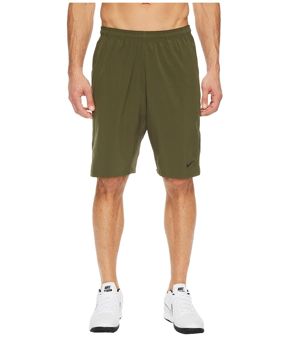 Nike N.E.T. 11 Woven Short (Cargo Khaki/Black) Men