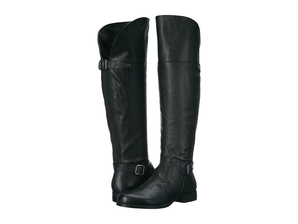 Naturalizer January (Black Leather) Women