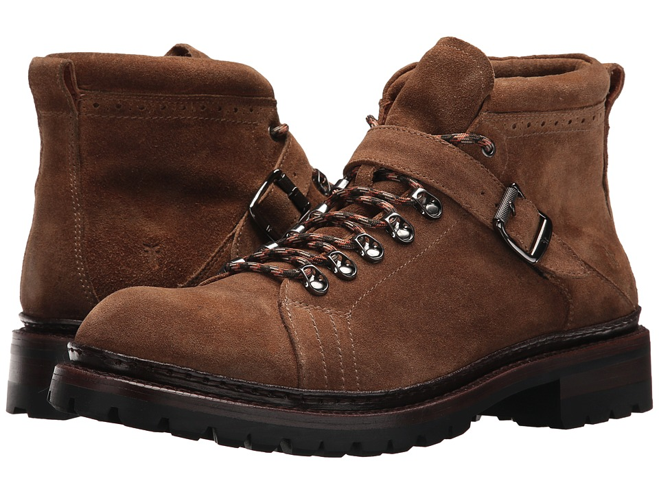 Frye George Norwegian Hiker (Fawn Waterproof Suede) Men
