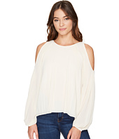 ROMEO & JULIET COUTURE - Cold Shoulder Pleated Top