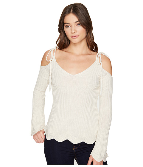 ROMEO & JULIET COUTURE Cold Shoulder Strap Top