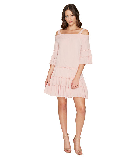 ROMEO & JULIET COUTURE Off the Shoulder Strap Midi Dress