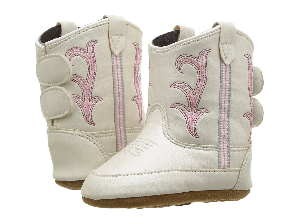 Old West Poppets (Infant/Toddler) (White) Cowboy Boots