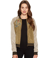 ROMEO & JULIET COUTURE - Embroidered Varsity Jacket