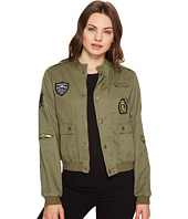 ROMEO & JULIET COUTURE - Button up Jacket with Patches