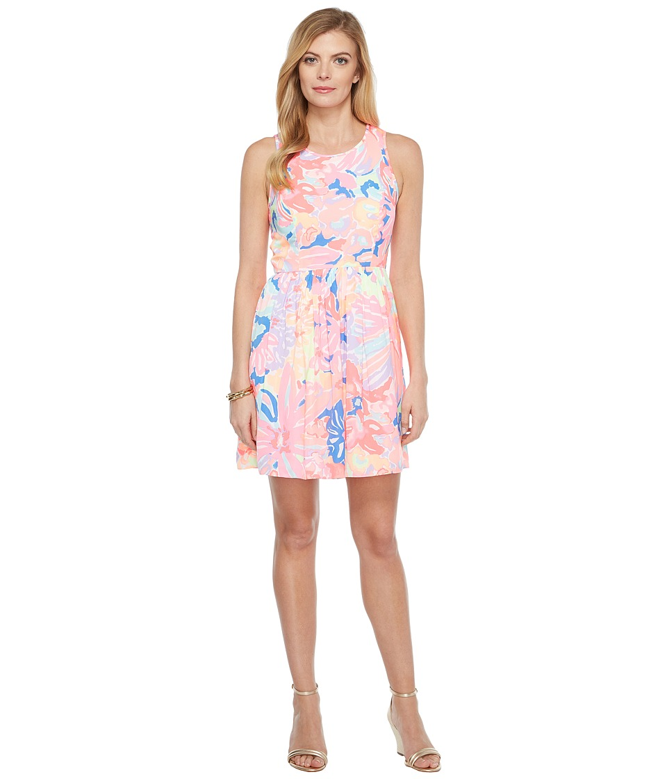Lilly Pulitzer Kassia Dress (Multi Playa Hermosa) Women