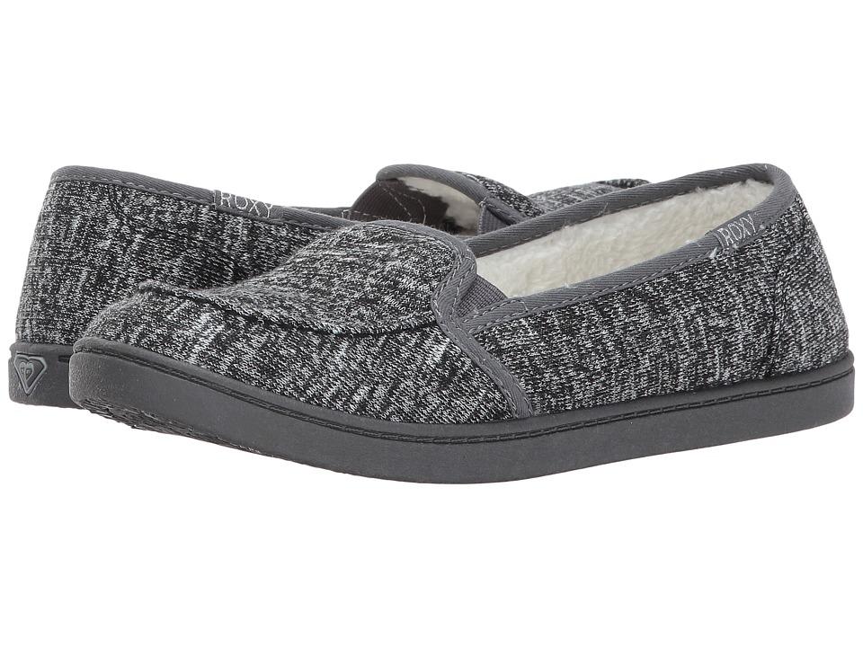 Roxy Minnow Wool V (Dark Grey) Women
