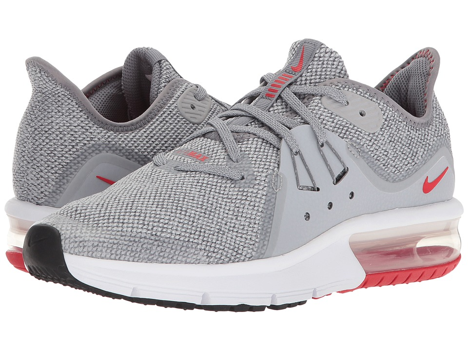 Nike Kids Air Max Sequent 3 (Big Kid) (Wolf Grey/Anthracite/Anthracite) Boys Shoes