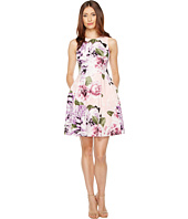 Vince Camuto - Printed Cotton Fit and Flare Dress