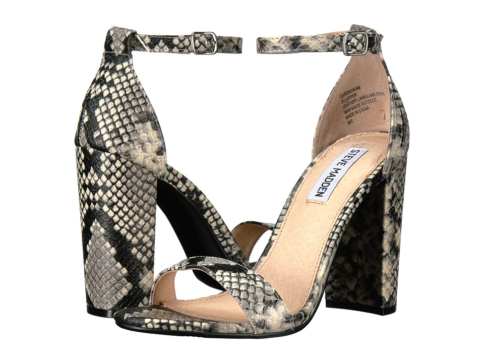 Steve Madden Carrson (Multi Snake) High Heels