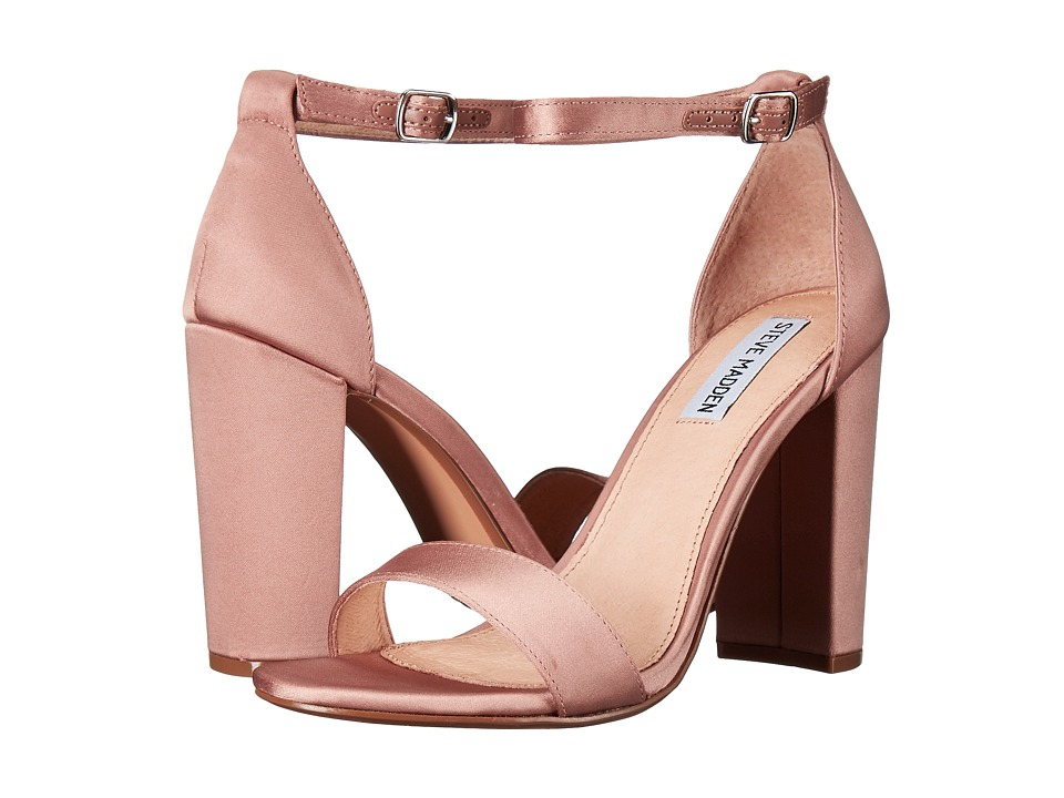 Steve Madden Carrson (Blush Satin) High Heels