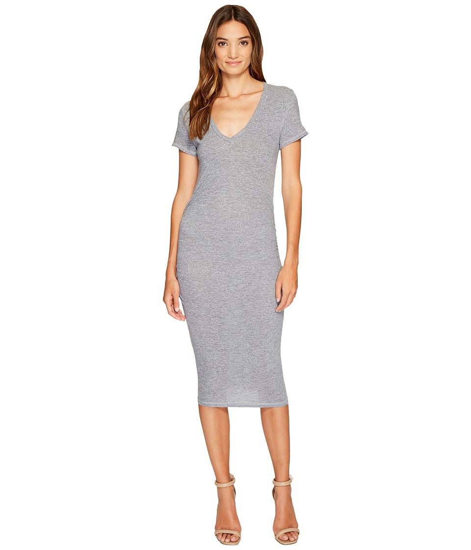 Lanston - Ruched T-Shirt Dress