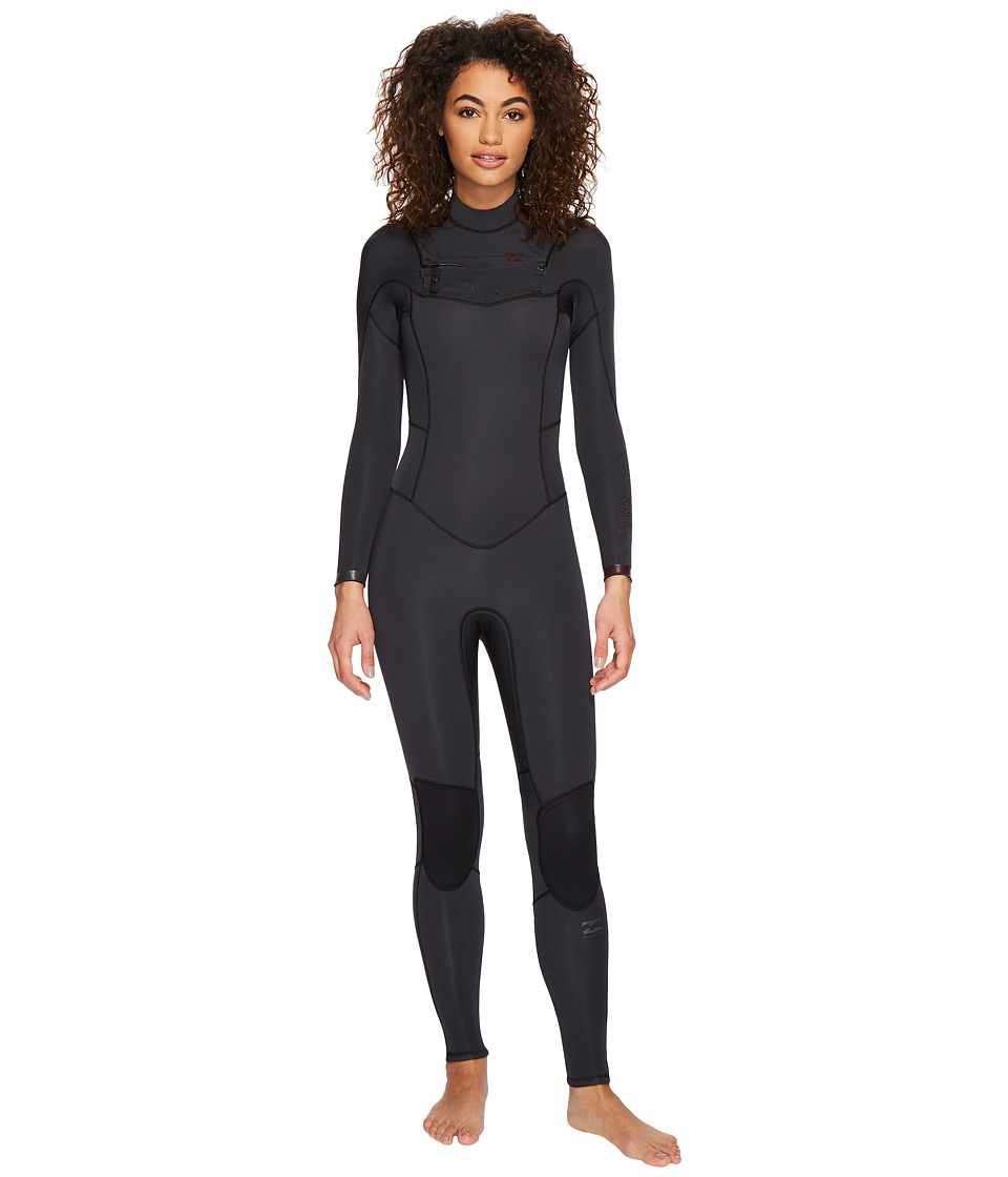 Image of Billabong - 302 Synergy Chest Zip (Black Sands) Women's Wetsuits One Piece