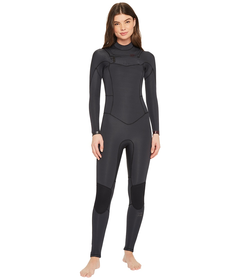 Image of Billabong - 403 Synergy Chest Zip (Black Sands) Women's Wetsuits One Piece