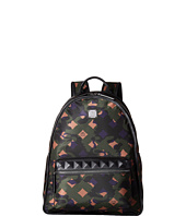 MCM - Dieter Munich Lion Camo Nylon Medium Backpack