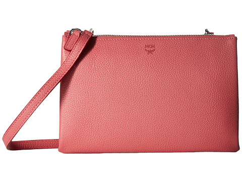 MCM Milla Double Bag - Coral Blush