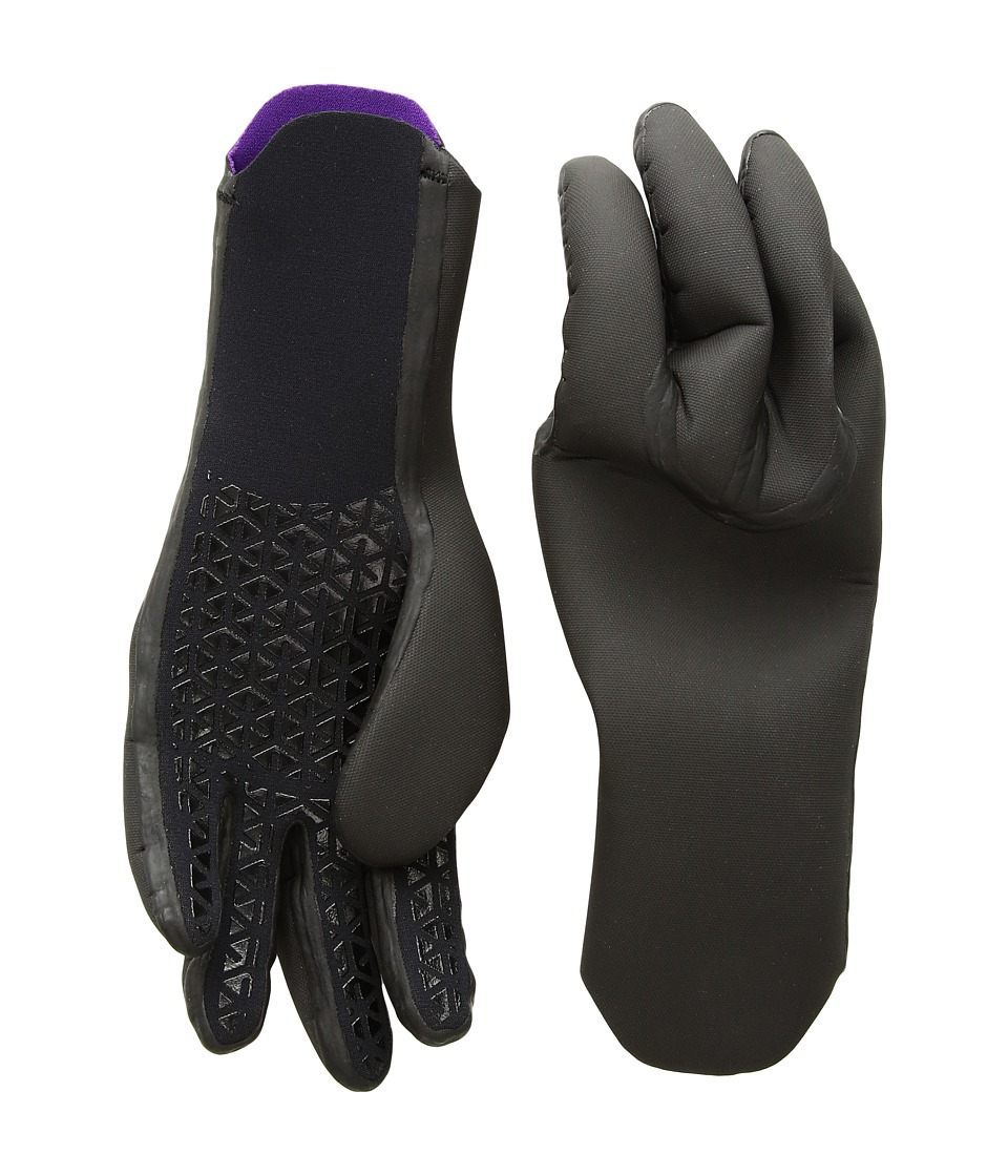 Billabong 2mm Absolute Competition Gloves (Black) Extreme Cold Weather Gloves
