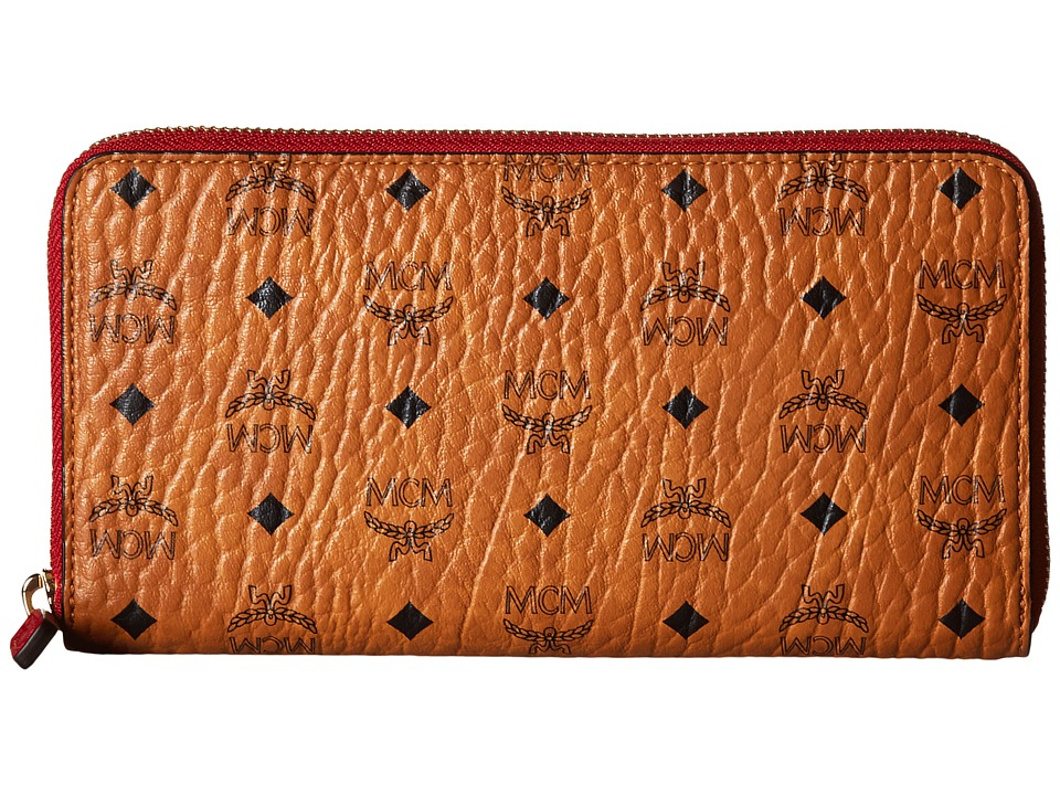 MCM - Color Visetos Large Zip Wallet