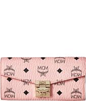 MCM - Patricia Visetos Flap Wallet