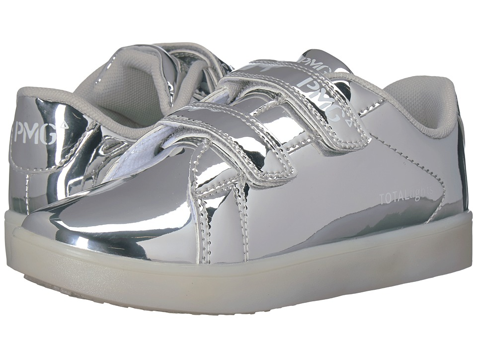 Primigi Kids PTL 8347 (Toddler/Little Kid/Big Kid) (Silver) Girl's Shoes
