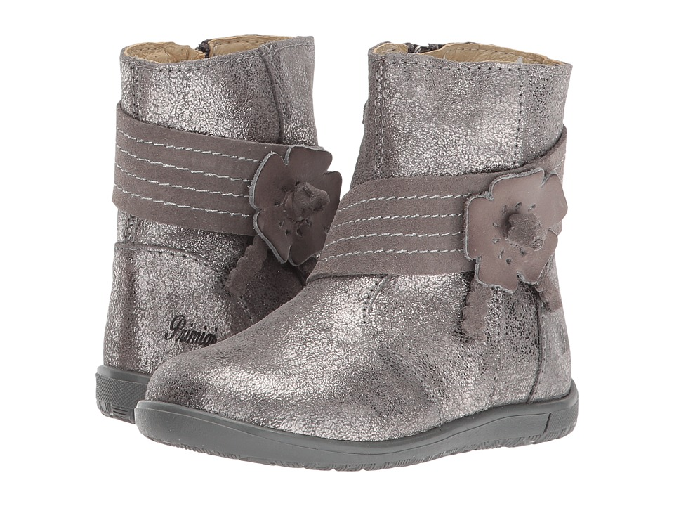 Primigi Kids PHW 8088 (Toddler) (Grey) Girl's Shoes
