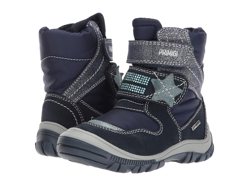 Primigi Kids PNA GTX 8173 (Toddler) (Navy) Girl's Shoes