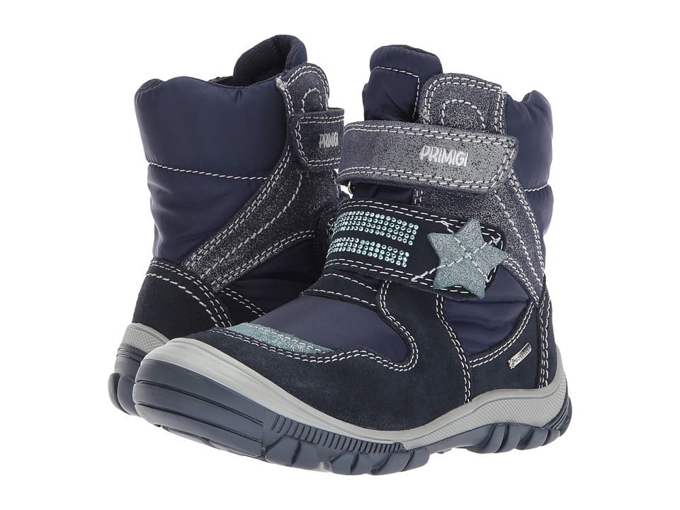 Primigi Kids PNA GTX 8173 (Toddler/Little Kid) (Navy) Girl's Shoes