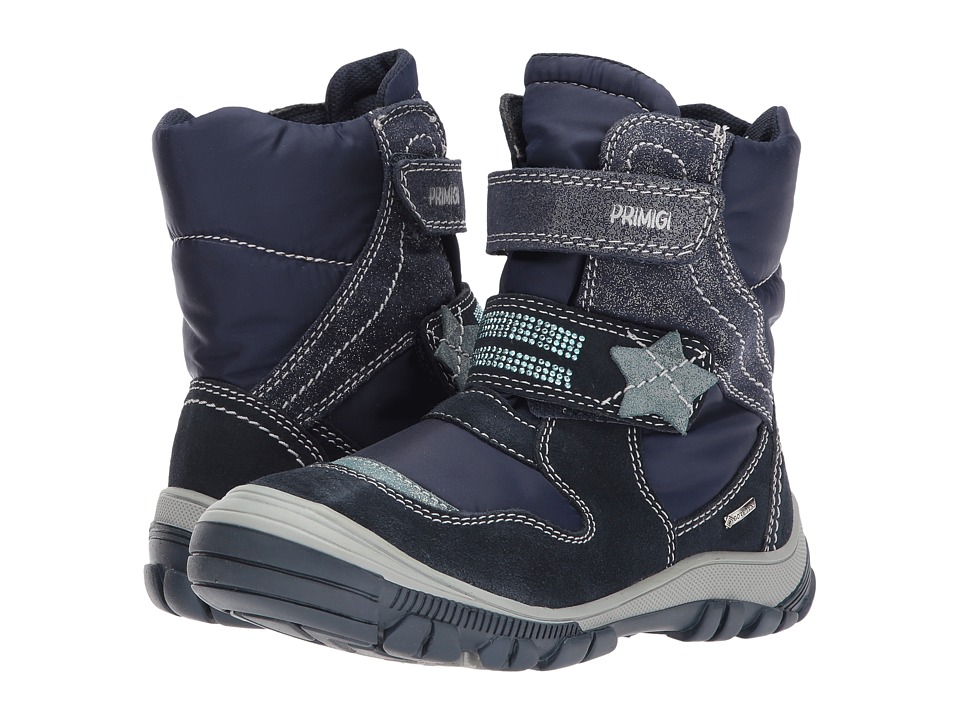 Primigi Kids PNA GTX 8173 (Little Kid) (Navy) Girl's Shoes