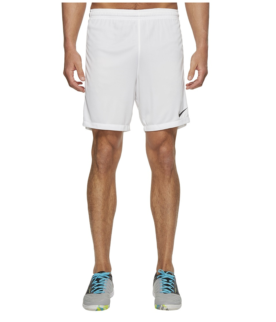 Nike Dry Squad Soccer Short (White/Black/Black) Men