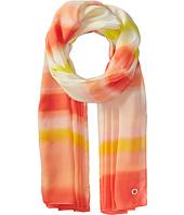Calvin Klein - Ombre Dye Stripe Poly Chiffon