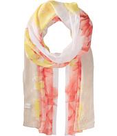 Calvin Klein - Border Floral Poly Chiffon