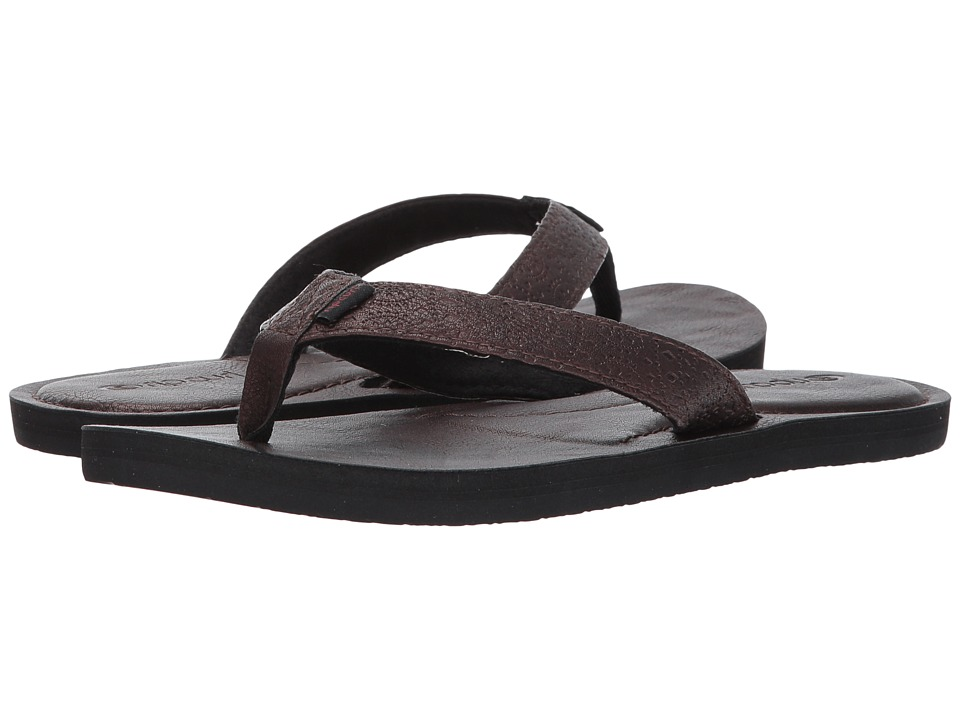 Rip Curl Offset Girls (Burgundy) Sandals
