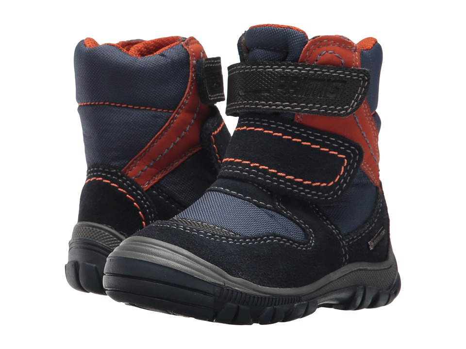 Primigi Kids PNA GTX 8172 (Toddler) (Navy) Boy's Shoes