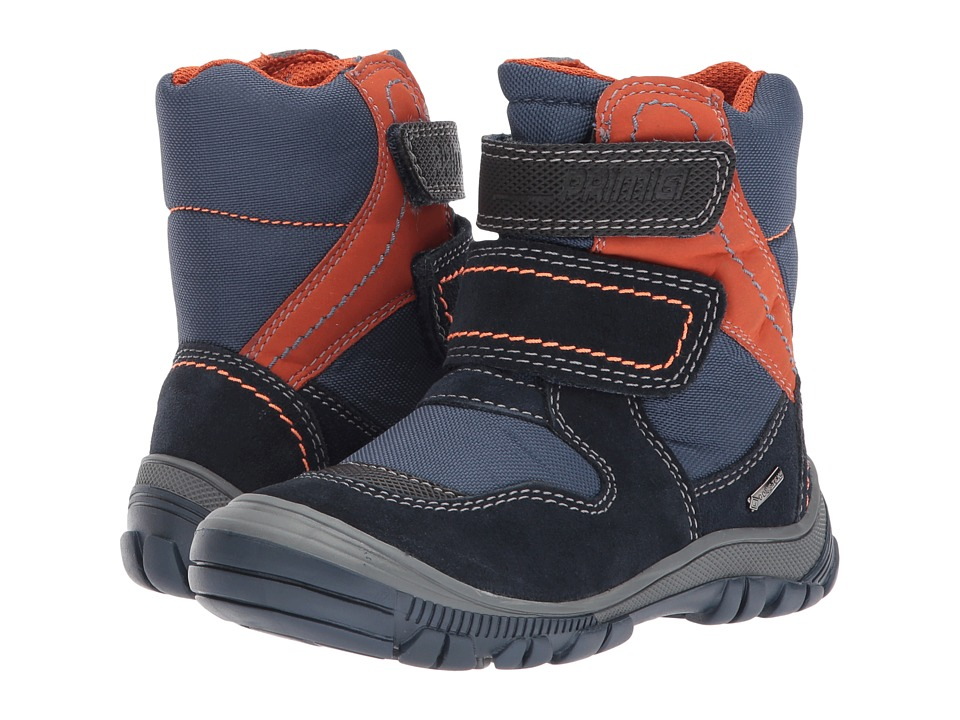 Primigi Kids PNA GTX 8172 (Toddler/Little Kid) (Navy) Boy's Shoes