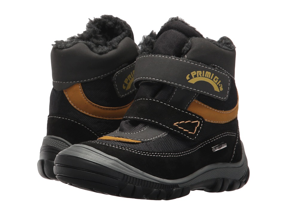 Primigi Kids PNA GTX 8171 (Toddler) (Black) Boy's Shoes