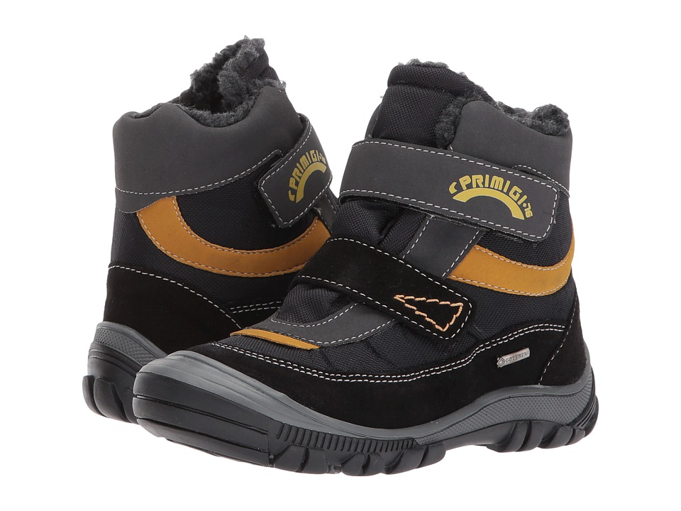 Primigi Kids PNA GTX 8171 (Toddler/Little Kid) (Black) Boy's Shoes
