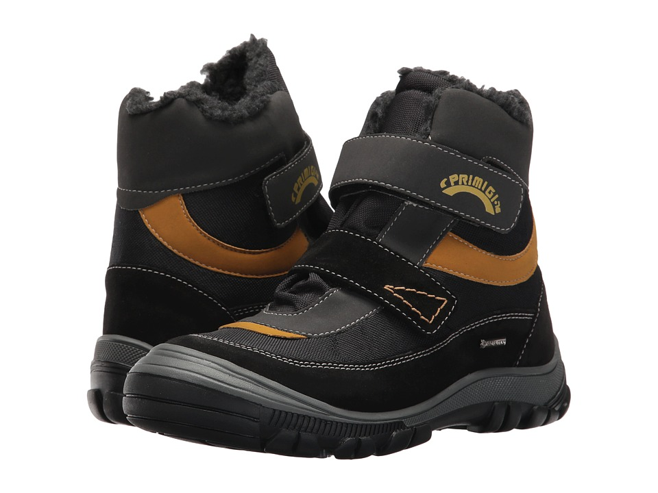 Primigi Kids PNA GTX 8171 (Little Kid) (Black) Boy's Shoes