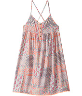 Tommy Hilfiger Kids - Button Front Boho Print Dress (Big Kids)